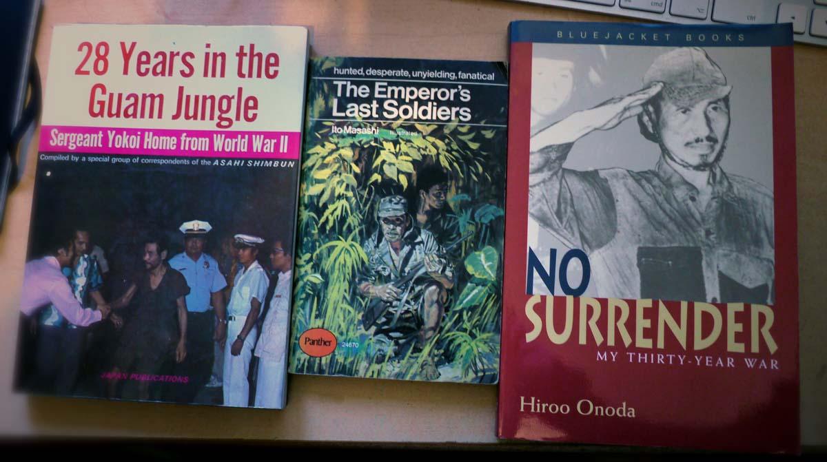 Boeken over verscholen Japanse militairen die lang niet hebben geweten dat de oorlog voorbij was (Foto Huib J. Lirb)