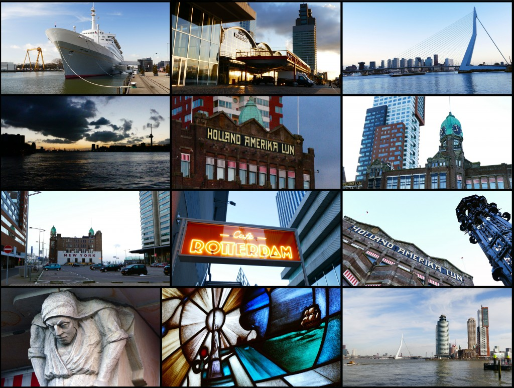 """Huib J. Lirb- """"Stills"""" van de videoopnames gemaakt op en om de Kop van Zuid (Wilhelminakade) te Rotterdam en van het schip SS Rotterdam in de Maashaven. 4 en 5 maart 2016."""