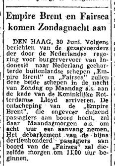 De Gelderlander 1 juli 1950