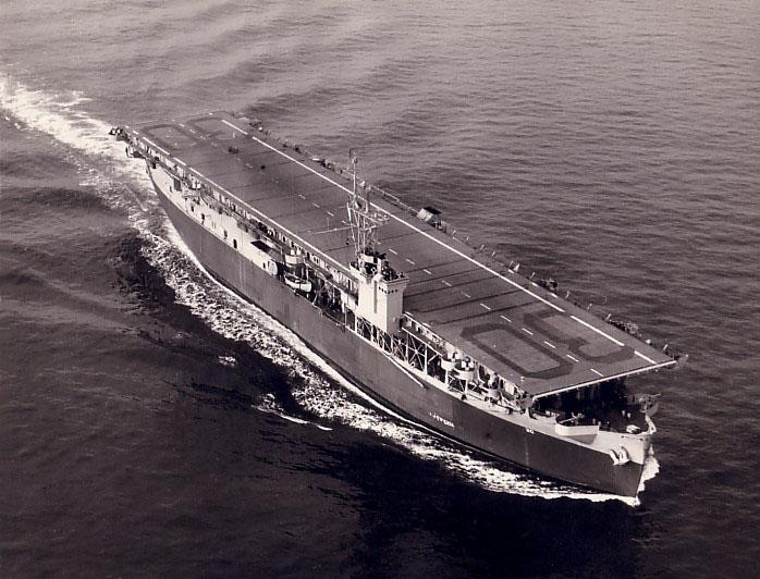 USS Charger. Public Domain