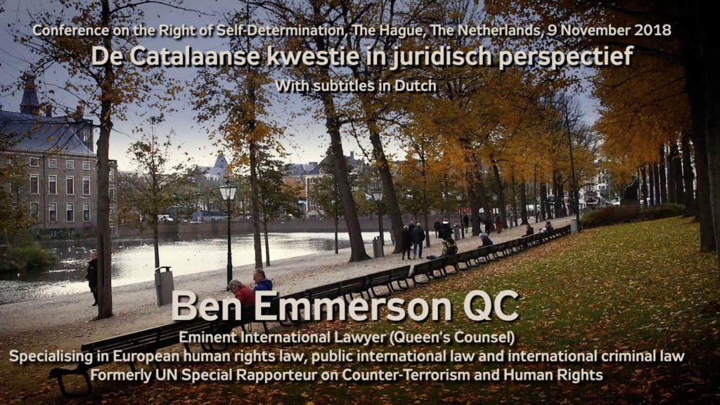 Startbeeld van de video met de voordracht van Ben Emmerson